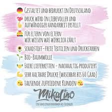 Mikalino Babybody Mit Spruch Für Jungen Mädchen Unisex Langarm Meine