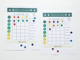 Star Chart And Wallet Chore System For Young Kids One