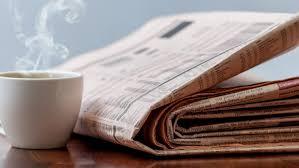 Newspaper Newspaper Headline Monday April 24 24 Muse Africa 20