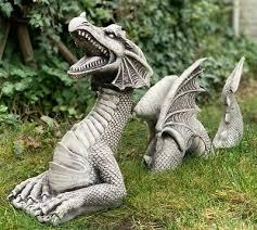large dragon statue concrete dragon