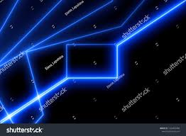 Broken Light Effect Light Frame Abstract Glow Effect Glowing Royalty Free