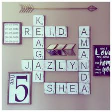 diy letter wall decor scrabble wall art ideas on on letter decor interesting decorating wooden letters