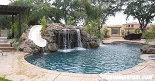 inground pools with waterfalls and slides. Swimming Pools With Waterfalls And Slides Inground Pool