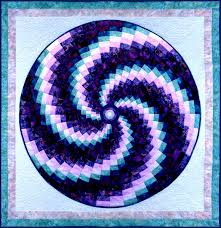 Quilt Inspiration: More fabulous bargello quilts : Bargello Swirl ... & Quilt Inspiration: More fabulous bargello quilts : Bargello Swirl, 45 x 45  by Ruth Adamdwight.com