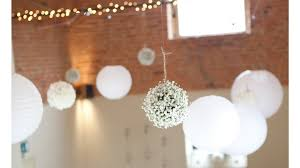 white hanging flower how to create pomanders kissing wedding flowers you
