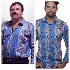 Barabas Men - EL CHAPO GUZMAN WEARING BARABAS SHIRT !...