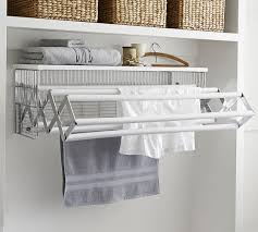 wall mounted drying racks for laundry