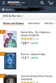 Amazon Uk Pre Order Chart