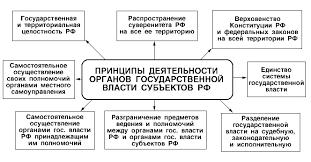 Курсовая работа Структура государственного механизма Ниже на рисунке 2 представлены принципы деятельности органов государственной власти