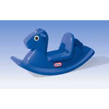 Little Tikes Storage Cabinet Little Tikes Rocking Horse In Primary Blue Reviews Wayfair