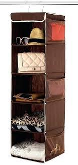 hanging closet organizer ikea made by design 6 shelf target 5 java home bathrooms excellent new