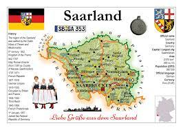 Saarland, land (state) in the southwestern portion of germany. Europe Germany States Saarland Motw X 3pieces