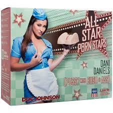 Doc Johnson All Star Porn Stars Dani Daniels Pussy With Bush.