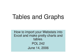 Ppt Tables And Graphs Powerpoint Presentation Id 6900994
