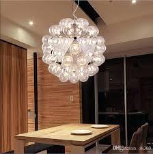 bubble glass chandelier clear supplieranufacturers at pendant lamp chan