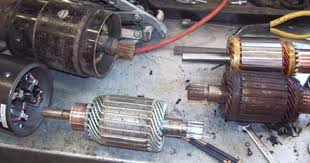 bellview tech the s daddy com x and off road i shined up the commutator the copper metal bars that the brushes rub on the other two armatures had rusty gears or oil all over them