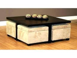 coffee table with storage ottomans underneath woven coffee table ottoman woven coffee table ottoman coffee tables storage ottoman table elegant with regard