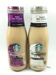 Description this smooth yet subtly sweet coffee rewards your taste buds with notes of dark cocoa and vanilla that give off hints of airy ladyfingers soaked in a bold coffee flavor with the creamiest mascarpone with every sip. Review Starbucks Frappuccino With A Splash Of Cold Brew The Impulsive Buy