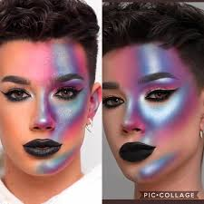 Makeup mogul james charles puts artists to the test to find out who has what it takes to become a beauty superstar and win $50,000 and the title of instant influencer. James Charles Look In His Video Vs Facetuned Picture He Posted On Twitter Beautyguruchatter