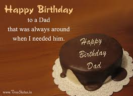 Birthday Quotes For Dad Enchanting Happy Birthday Quotes For Dad From Daughter Son With Greeting Images
