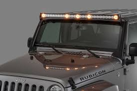 Best Led Light Bar For Jeep Wrangler J5 Led Light Bar With Amber Clearance Cab Lights Led Light