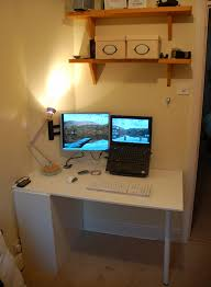 cupboard door folding desk ikea ers