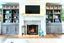 built in shelves around fireplace custom built shelves cabinets in wall units and entertainment mesmerizing around fireplace grey wooden cabinet with