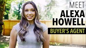 Meet Alexa Howell – Buyer's Agent - YouTube