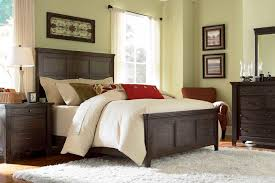Attractive Lovely Broyhill Bedroom Furniture And White Curtains With White Fur Rug
