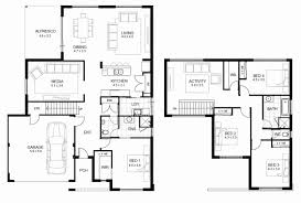sample floor plans fresh two story house floor plans with dimension story home plans ideas