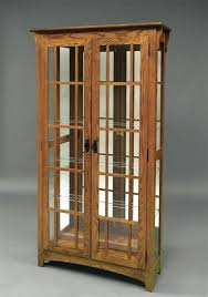 oak curio display cabinets creative decoration wood curio cabinet with glass doors the most wall units