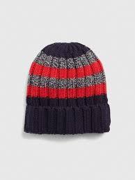 Colorblock Stripe Beanie In Wool Blend