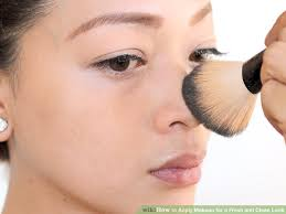 image led apply makeup for a fresh and clean look step 4