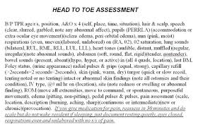 A Head To Toe Assessment Cheat Sheet Forged From 4 Different