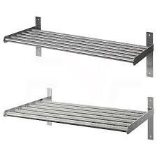 ikea wall mounted stainless steel