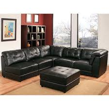 leather sectional couches. Erica 6-piece Top Grain Leather Modular Sectional Living Room Set - Black At Costco Couches C
