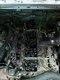 cummins b series engine 5 9 cummins in 1991 dodge ram the valve covers removed exposing the valvetrain