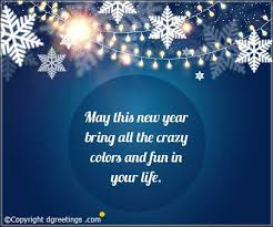 Quotes For New Year Greetings