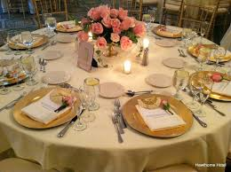 Blue And Gold Table Setting Gold White Blush Table Setting Google Suche Entertaining