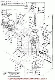 yamaha xs750 2 1977 usa carburetor schematic partsfiche carburetor schematic