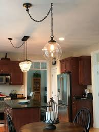 island chandelier lighting. Solution For Off-Centered Chandeliers! Clearly When My House Was Built, The Electrical Wiring Done Before Island Placed. Chandelier Lighting