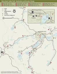 hiking many glacier  glacier national park (us national park