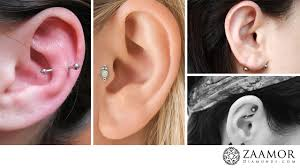 Do You Know The Types Of Ear Piercing Zaamor Diamonds Blog