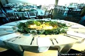 round table decorations ideas centerpieces best decoration for 40th wedding ann