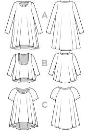 A Line Dress Pattern Impressive Ebony TShirt Dress Pattern Closet Case Patterns