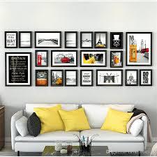 collage picture frame pure black wooden photo frame set european style vintage photo frame for pictures wall sets collage picture frame wooden photo frame