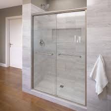 semi frameless sliding shower doors. semi-frameless sliding shower door in semi frameless doors the home depot