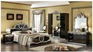 the bedroom furniture in black