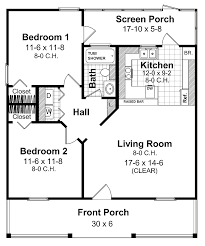 Small Picture 2 bedroom 2 bath cottage plans Source More Home Plans