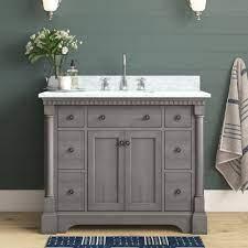 Solid Wood Bathroom Vanities Joss Main